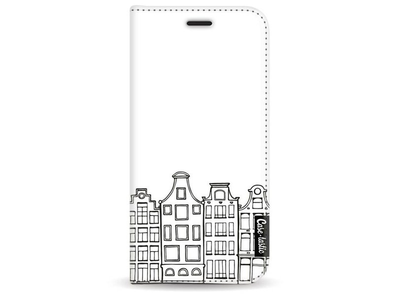 Casetastic Wallet Case White Samsung Galaxy A3 (2017) - Amsterdam Canal Houses