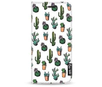 Cactus Dream - Wallet Case White Samsung Galaxy A3 (2017)