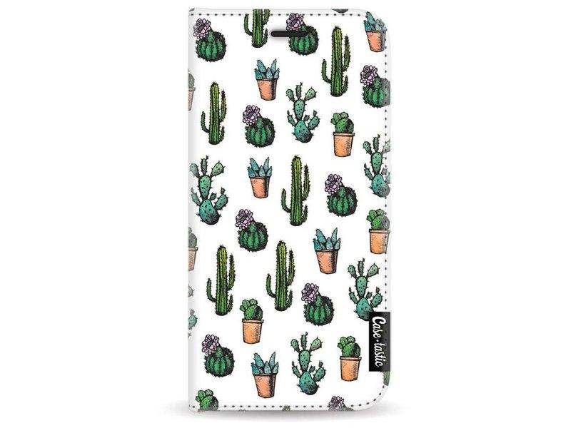Casetastic Wallet Case White Samsung Galaxy A3 (2017) - Cactus Dream