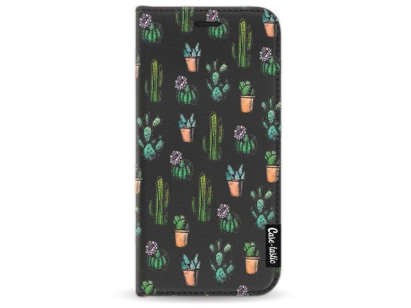 Casetastic Wallet Case Black Samsung Galaxy A3 (2017) - Cactus Dream