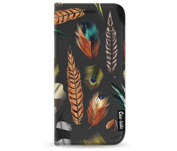 Feathers Multi - Wallet Case Black Samsung Galaxy A3 (2017)