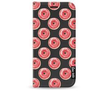 All The Donuts - Wallet Case Black Samsung Galaxy A3 (2017)