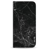 Casetastic Wallet Case Black Apple iPhone 8 - Black Marble