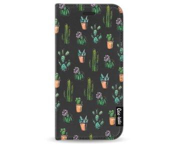Cactus Dream - Wallet Case Black Apple iPhone 8