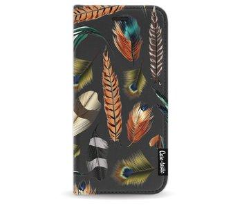 Feathers Multi - Wallet Case Black Apple iPhone 8