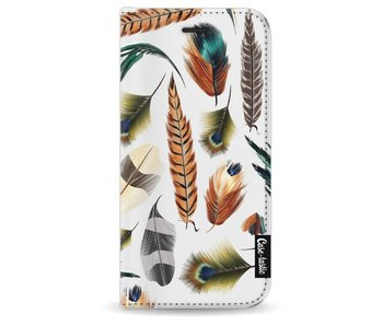 Feathers Multi - Wallet Case White Apple iPhone 8