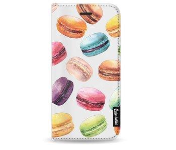 Macaron Mania - Wallet Case White Apple iPhone 8