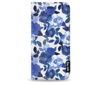 Royal Flowers - Wallet Case White Apple iPhone 8