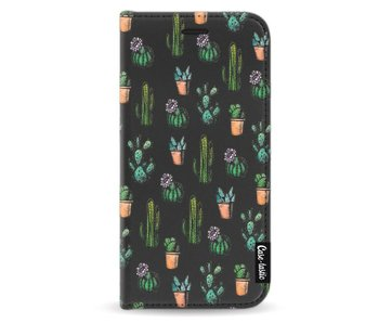 Cactus Dream - Wallet Case Black Apple iPhone X