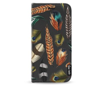 Feathers Multi - Wallet Case Black Apple iPhone X