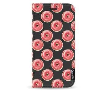 All The Donuts - Wallet Case Black Apple iPhone X