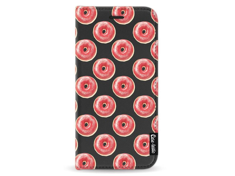 Casetastic Wallet Case Black Apple iPhone X - All The Donuts