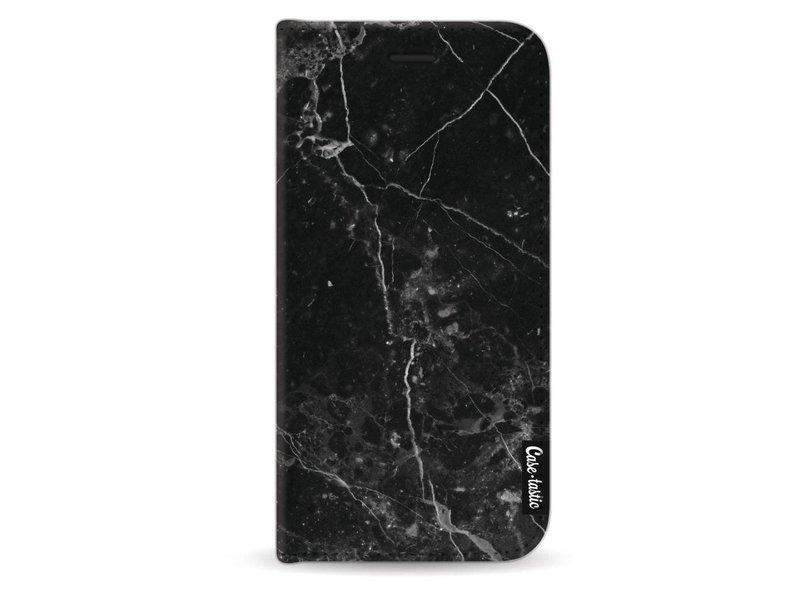 Casetastic Wallet Case Black Apple iPhone X - Black Marble