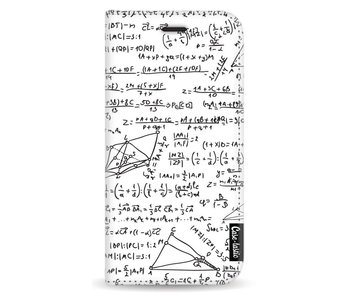 You Do The Math White - Wallet Case White Apple iPhone X