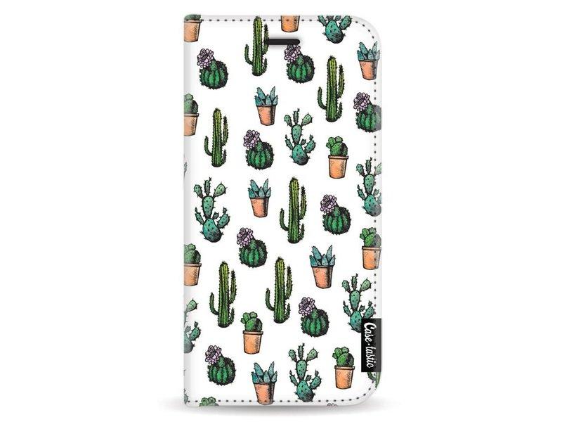 Casetastic Wallet Case White Apple iPhone X - Cactus Dream