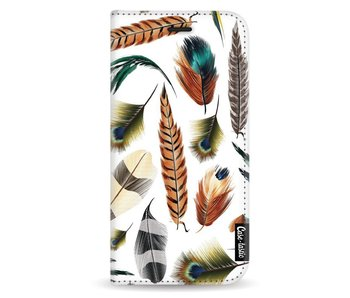 Feathers Multi - Wallet Case White Apple iPhone X