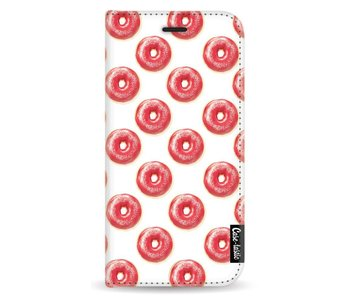 All The Donuts - Wallet Case White Apple iPhone X