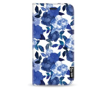Royal Flowers - Wallet Case White Apple iPhone X