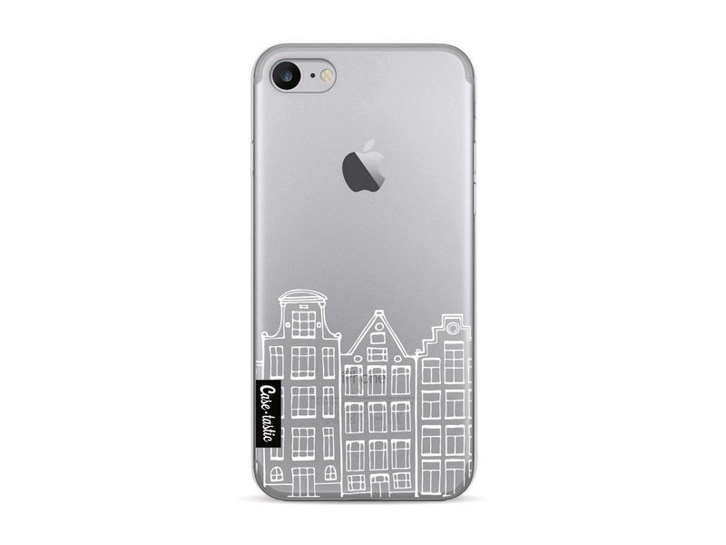Casetastic Softcover Apple iPhone 7 - Amsterdam Canal Houses White