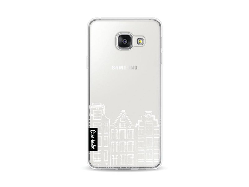 Casetastic Softcover Samsung Galaxy A3 (2016) - Amsterdam Canal Houses White