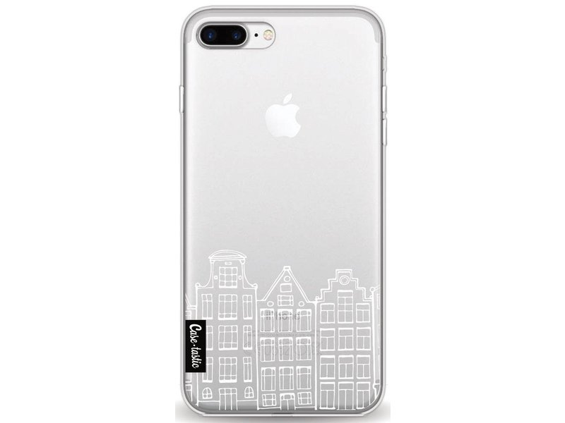Casetastic Softcover Apple iPhone 7 Plus - Amsterdam Canal Houses White