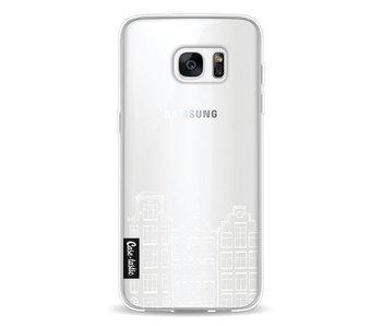 Amsterdam Canal Houses White - Samsung Galaxy S7 Edge