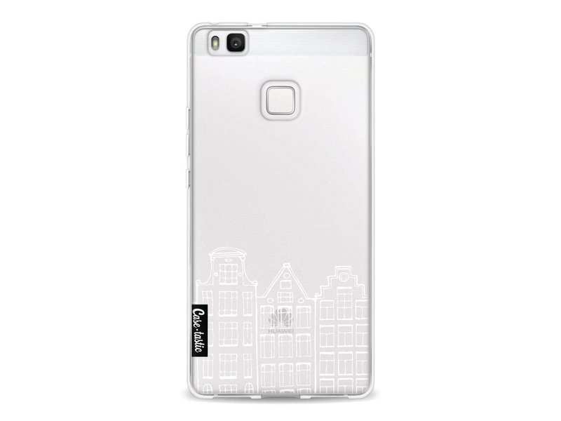 Casetastic Softcover Huawei P9 Lite - Amsterdam Canal Houses White
