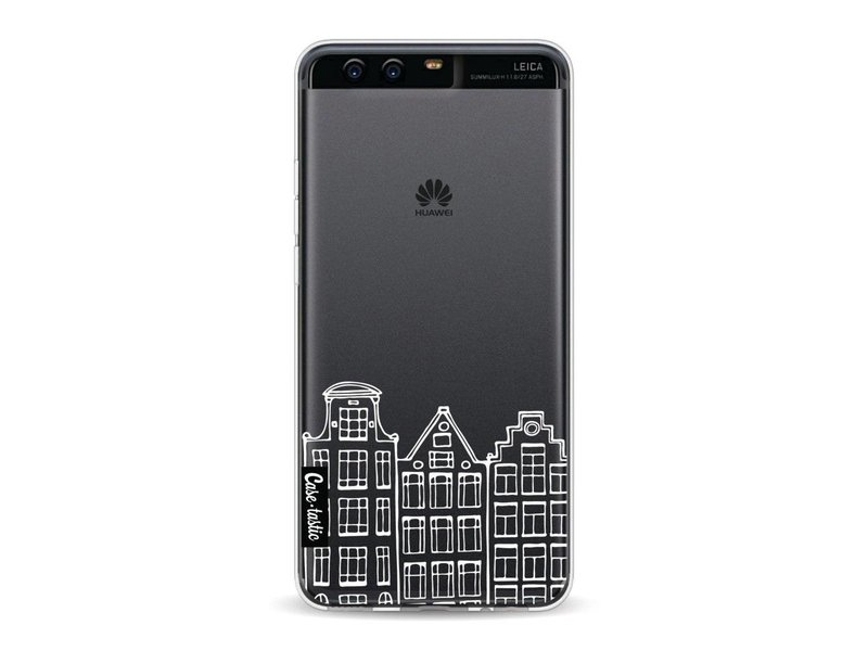 Casetastic Softcover Huawei P10 - Amsterdam Canal Houses White