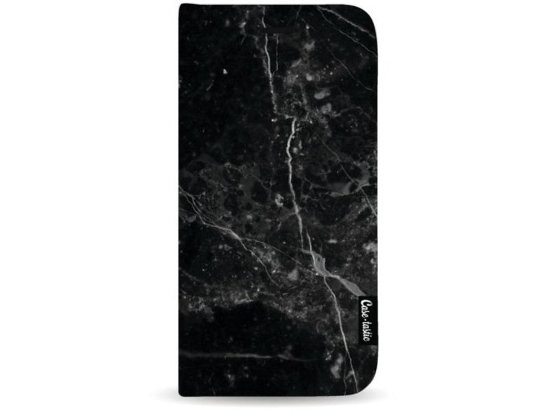 Casetastic Wallet Case Black Apple iPhone 8 Plus - Black Marble