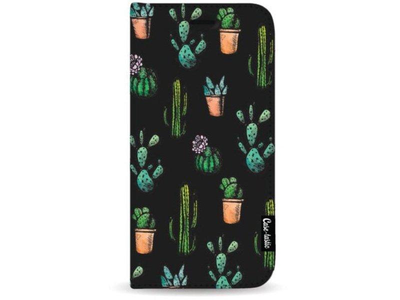 Casetastic Wallet Case Black Apple iPhone 8 Plus - Cactus Dream