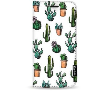 Cactus Dream - Wallet Case White Samsung Galaxy S8 Plus