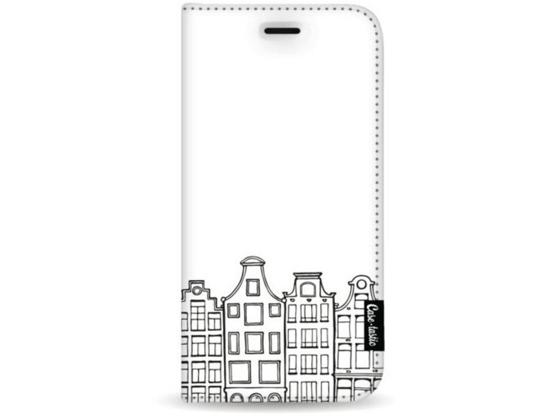Casetastic Wallet Case White Apple iPhone 8 Plus - Amsterdam Canal Houses