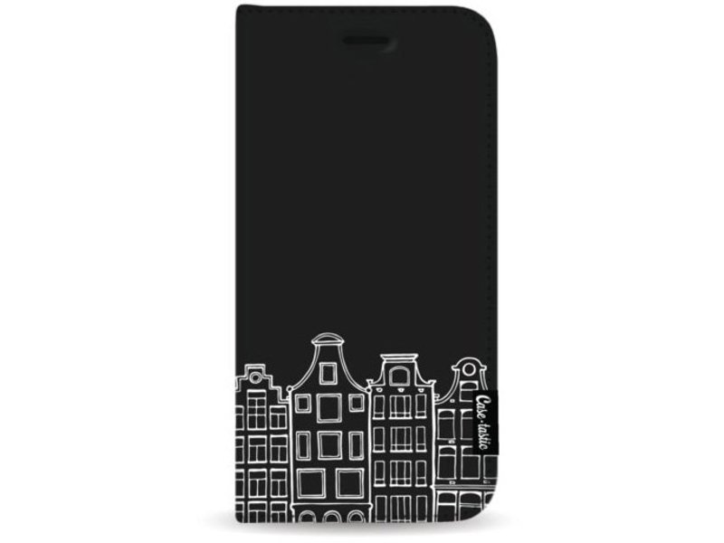 Casetastic Wallet Case Black Samsung Galaxy S8 Plus - Amsterdam Canal Houses White