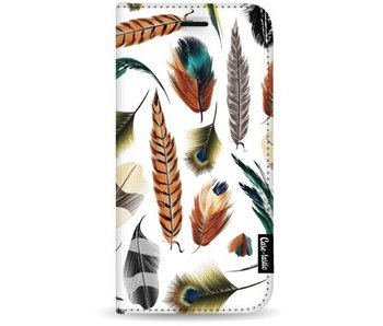 Feathers Multi - Wallet Case White Samsung Galaxy S8 Plus
