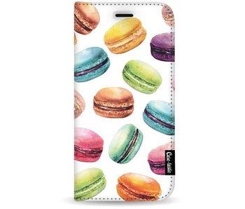Macaron Mania - Wallet Case White Samsung Galaxy S8 Plus