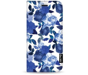 Royal Flowers - Wallet Case White Samsung Galaxy S8 Plus