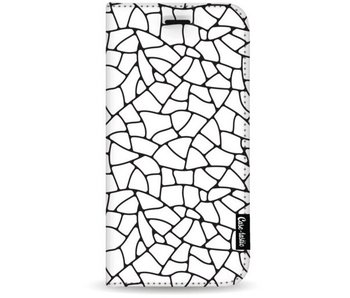 Transparent Mosaic - Wallet Case White Samsung Galaxy S8 Plus
