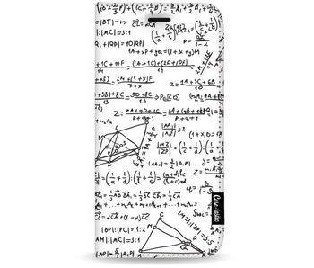 You Do The Math White - Wallet Case White Samsung Galaxy S8 Plus