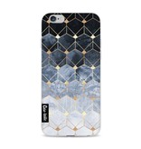 Casetastic Softcover Apple iPhone 6 / 6s - Blue Hexagon Diamonds