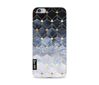 Blue Hexagon Diamonds - Apple iPhone 6 / 6s