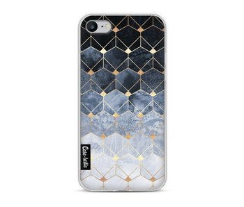 Blue Hexagon Diamonds - Apple iPhone 8