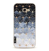 Casetastic Softcover Samsung Galaxy A5 (2017)  - Blue Hexagon Diamonds