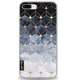 Casetastic Softcover Apple iPhone 7 Plus - Blue Hexagon Diamonds