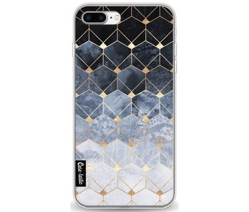 Blue Hexagon Diamonds - Apple iPhone 7 Plus