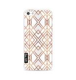 Casetastic Softcover Apple iPhone 5 / 5s / SE - Copper Geo