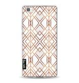 Casetastic Softcover Huawei P8 Lite - Copper Geo