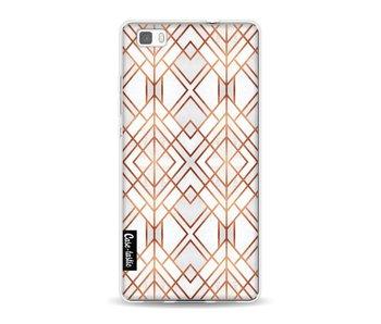 Copper Geo - Huawei P8 Lite