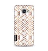 Casetastic Softcover Samsung Galaxy A3 (2016) - Copper Geo