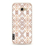 Casetastic Softcover Samsung Galaxy A5 (2017)  - Copper Geo