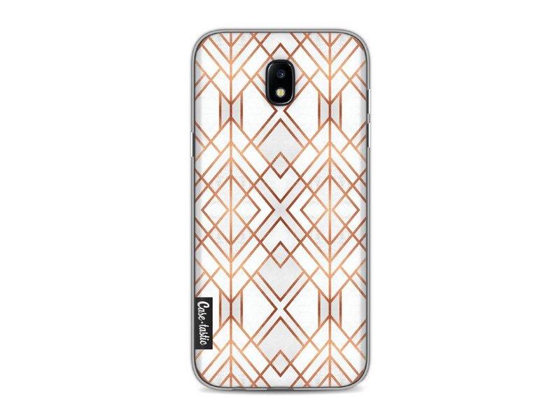 Casetastic Softcover Samsung Galaxy J5 (2017) - Copper Geo